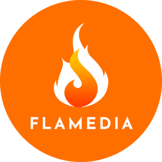 FLAME MEDIA logo