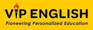 VIP ENGLISH logo